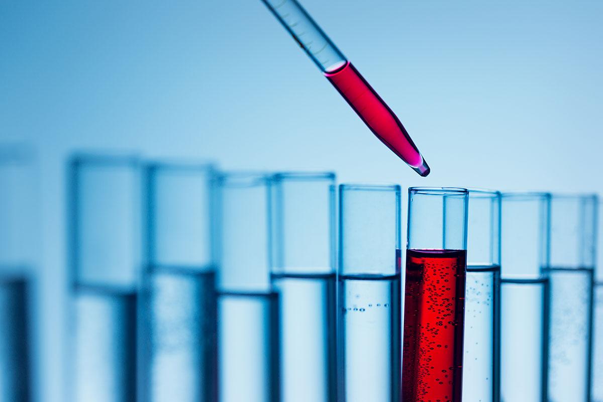 Untersuchung von Blutproben