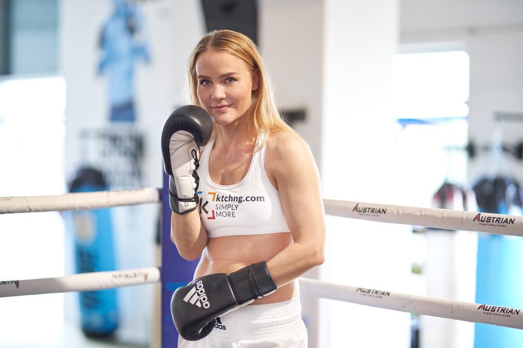 Boxweltmeisterin Nicole Wesner